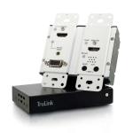 C2G 29218 AV transmitter & receiver Black, White AV extender
