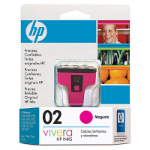 HP 02 Magenta Ink Cartridge Magenta cartucho de tinta