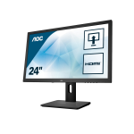 """AOC Pro-line E2475PWJ computer monitor 59.9 cm (23.6"""") Full HD LCD Flat Matt Black"""