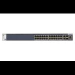 Netgear M4300-28G Managed L3 Gigabit Ethernet (10/100/1000) Black 1U