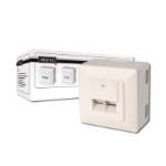 Digitus Modular Wall Outlet CAT5e RJ-45ZZZZZ], DN-9002/B5-N