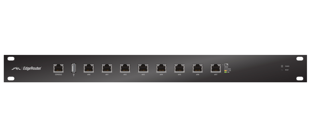 Ubiquiti Networks EdgeRouter ER-8 wired router Ethernet LAN Black