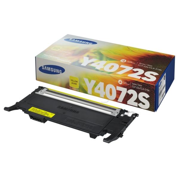 Samsung CLT-Y4072S/ELS (Y4072S) Toner yellow, 1000 pages