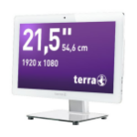 "Wortmann AG TERRA 2211wh 54.6 cm (21.5"") 1920 x 1080 pixels Touchscreen 3.4 GHz 7th gen Intel® Core™ i5 i5-7500 White All-in-One PC"