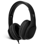 V7 Over-Ear Headphones with Microphone - Black headphone