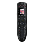 Logitech Harmony 665 IR Wireless Press buttons Black remote control