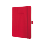 Sigel Conceptum writing notebook A5 194 sheets Red