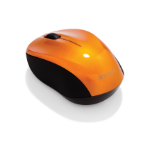 Verbatim Go Nano mice RF Wireless 1600 DPI Ambidextrous Orange