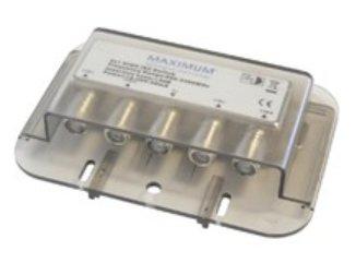Maximum 1216 Grey cable splitter/combiner