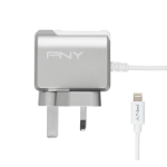 PNY P-AC-LN-SUK01-RB Indoor Grey,White mobile device charger