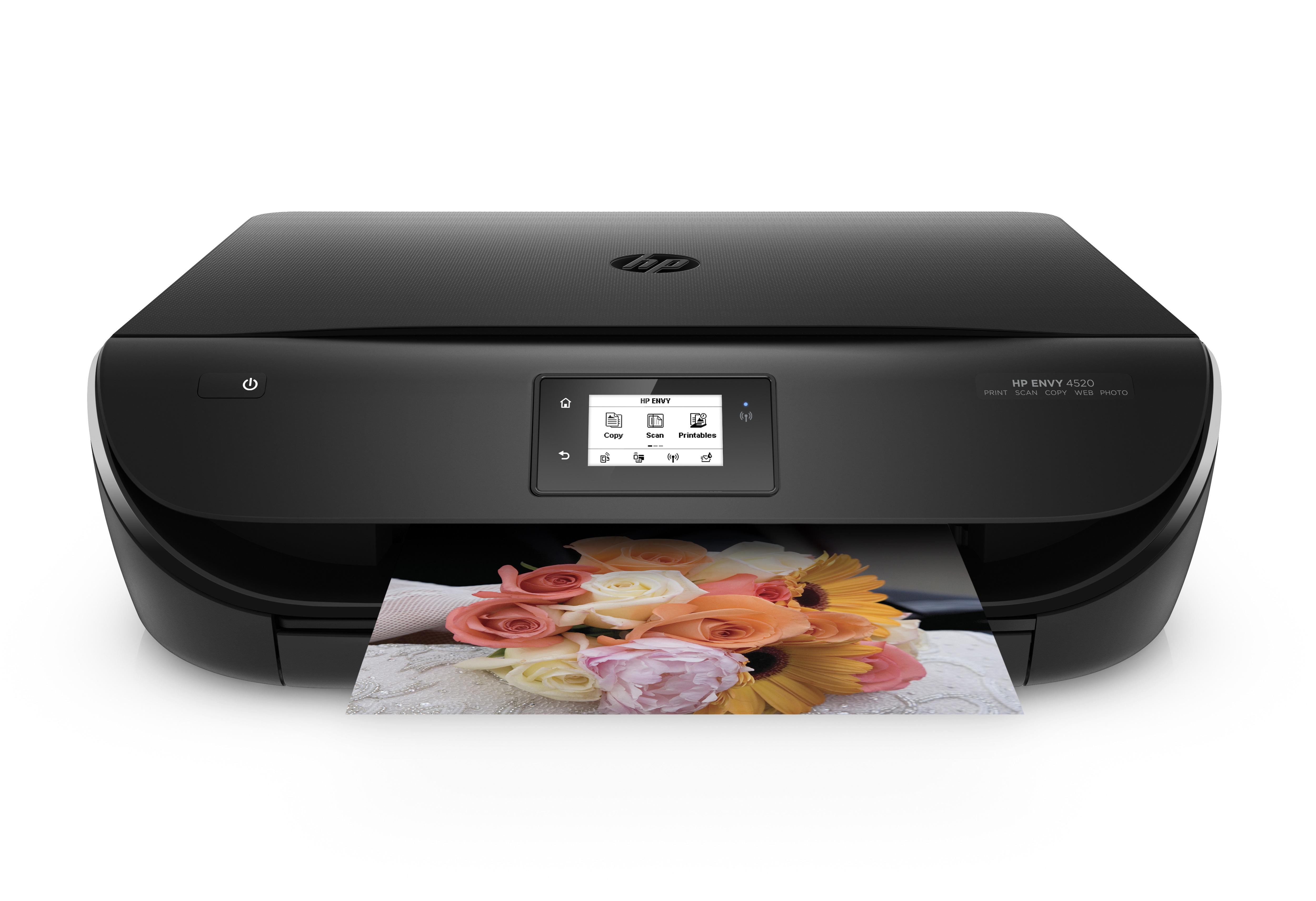 HP ENVY 4520 AiO Thermal Inkjet A4 Wi-Fi Black