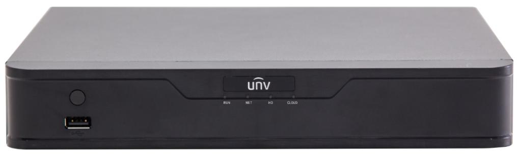 Uniview NVR301-08-P8 network video recorder Black