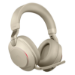 Jabra Evolve2 85, UC Stereo Headset Head-band 3.5 mm connector USB Type-C Bluetooth Beige