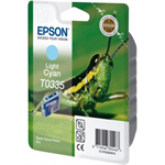 Epson C13T03354010 (T0335) Ink cartridge bright cyan, 440 pages, 17ml
