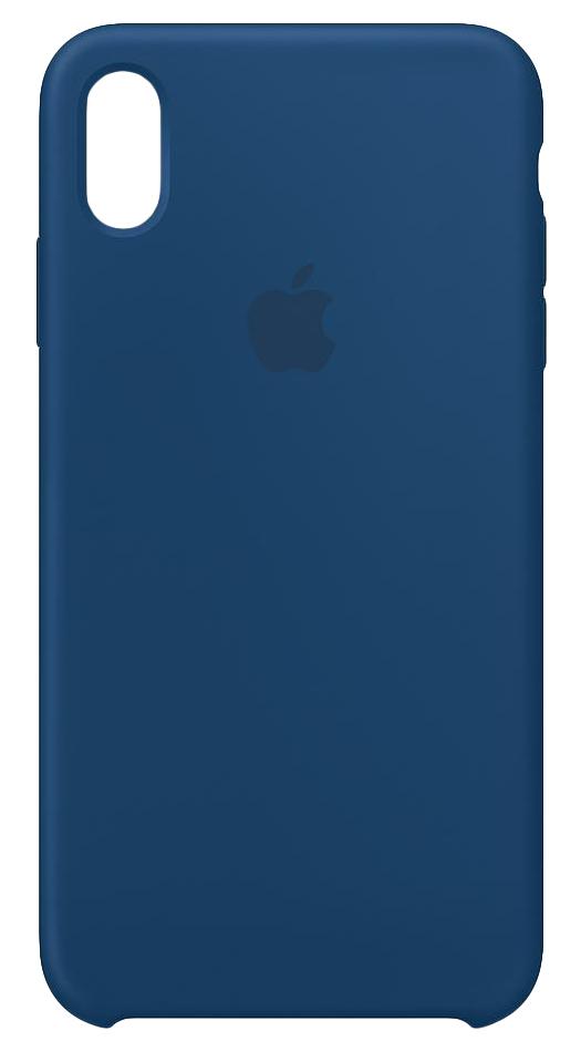 "Apple MTFE2ZM/A funda para teléfono móvil 16,5 cm (6.5"") Funda blanda Azul"