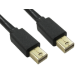 Cables Direct Mini DisplayPort, 1m Black