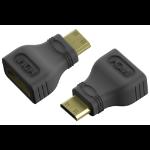 Vision TC-MHDMIHDMI cable gender changer Mini-HDMI HDMI Black