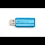 Verbatim 32GB PinStripe 32GB USB 2.0 Type-A Blue USB flash drive