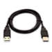 V7 Cable USB negro con conector USB 2.0 A macho a USB 2.0 A macho 2m 6.6ft