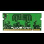 Kingston Technology ValueRAM 2GB 667MHz DDR2 Non-ECC CL5 SODIMM 2GB DDR2 667MHz módulo de memoria