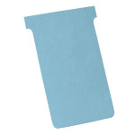 Nobo T-Cards Size 3 Blue (100)
