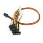 Microconnect SFF8087/4XSFF8482P-050 Serial Attached SCSI (SAS) cableZZZZZ], SFF8087/4XSFF8482P-050