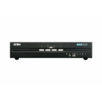 Aten CS1144D KVM switch Rack mounting Black