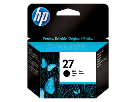 HP C8727AE#301 (27) Printhead black, 280 pages, 10ml
