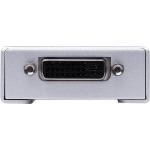 Gefen EXT-DVI-141DLBP wire connector Blue, Silver