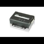Aten VE601R AV extender AV receiver Black