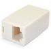 StarTech.com Paquete de 10 Cajas de Empalme Modulares Acopladores para Cable Cat5e Ethernet UTP - 2x Hembra RJ45 - Beige
