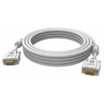 Vision 2x VGA 15-pin D-Sub, 3m 3m VGA (D-Sub) VGA (D-Sub) White VGA cable