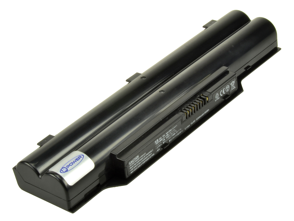 2-Power 10.8v, 6 cell, 56Wh Laptop Battery - replaces FPCBP250