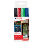 Edding Chalk Marker 4095 Medium Nib Assorted PK4