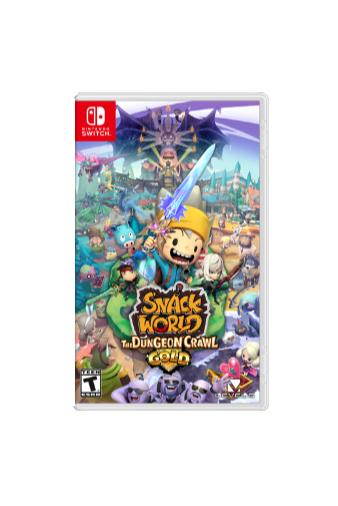 Nintendo SNACK WORLD: THE DUNGEON CRAWL — GOLD, Switch video game Nintendo Switch Basic