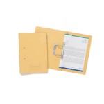 Exacompta Value Transfer File Fooldscap Yellow TFM-YLWZ - (PK25)