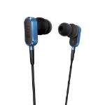 KEF M100 In-ear Binaural Wired Black,Blue mobile headset