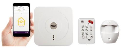 Yale SR-310 White security alarm system