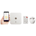 Yale SR-310 White security alarm system