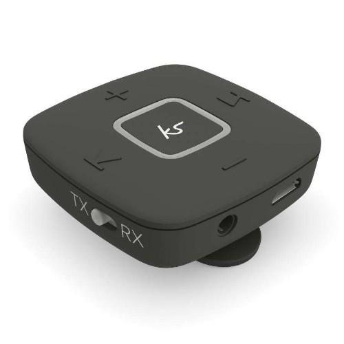 KitSound KSWMA2BK wireless audio transmitter 3.5 mm 10 m Black