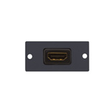 Kramer Electronics HDMI Wall Plate Insert Black outlet box