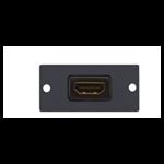 Kramer Electronics HDMI Wall Plate Insert Black outlet box W-H
