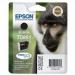 Epson Monkey Cartucho T0892 cian (etiqueta RF)