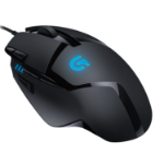 Logitech G402 Optical Gaming Mouse Corded, Hyperion Fury 8 buttons, FPS 4000 DPI