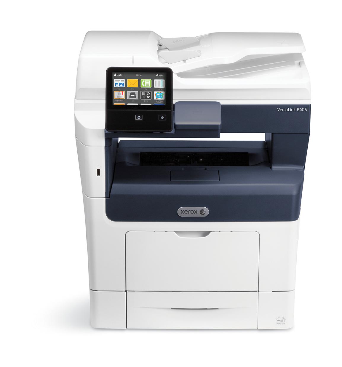 Xerox VersaLink B405 A4 45 ppm dúplex copia/impresión/escaneado sin contrato PS3 PCL5e/6 2 bandejas Total 700 hojas