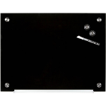 New Quartet Magnetic Glass Boards 450 X 600mm Black