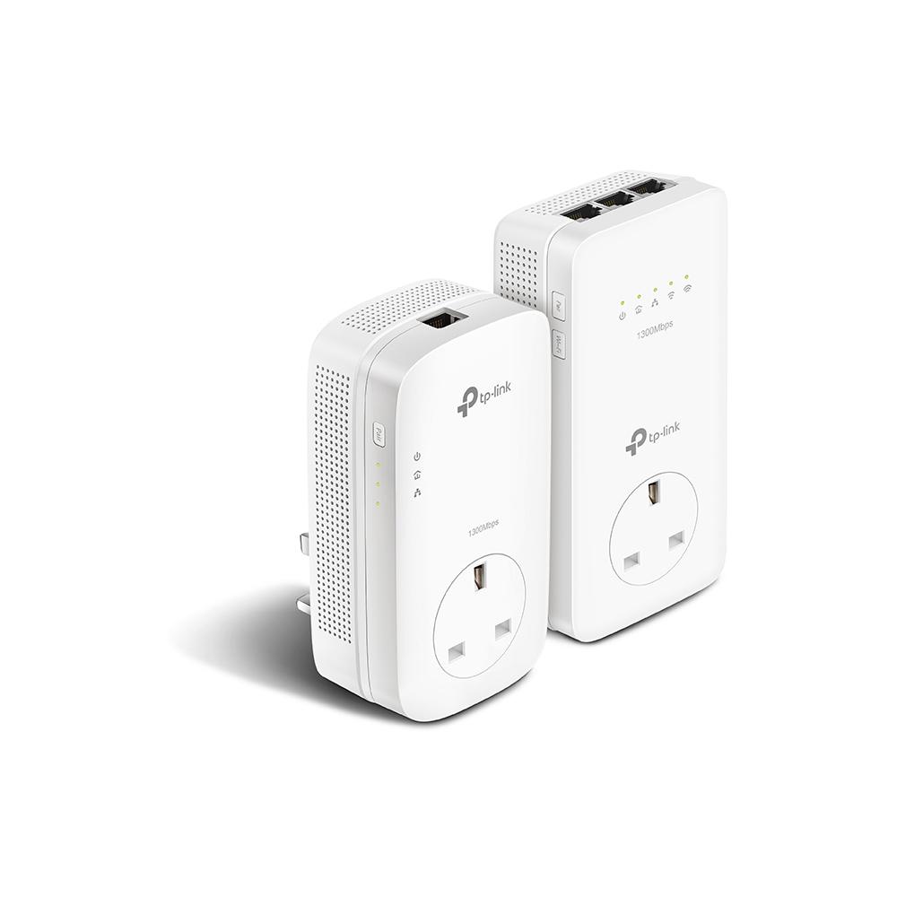 Gigabit Powerline Ac Passthrough Wi-Fi Kit Av1200