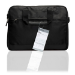 Belkin Slim Lightweight Messenger Bag for Laptops, Macbooks and Chromebooks up to 13.3 inch Black F8N309