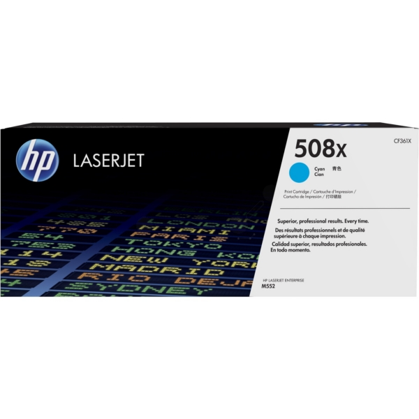HP CF361X (508X) Toner cyan, 9.5K pages