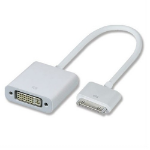"4XEM 4X30PINVGA mobile phone cable White 7.05"" (0.179 m) VGA 30 pin"